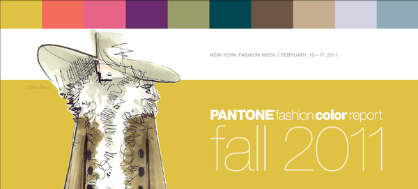 pantone fashion color report