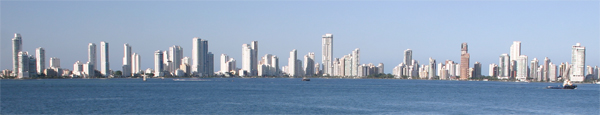cartagena, colombia-panorama