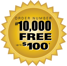 up to $100 Free