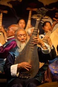 Yunnan Naxi Musician