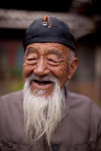 Bai Sha Village Elder