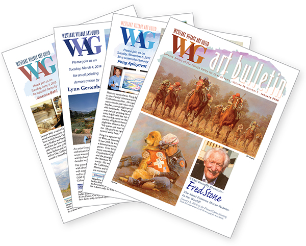 Westlake Village Art Guild  newsletters