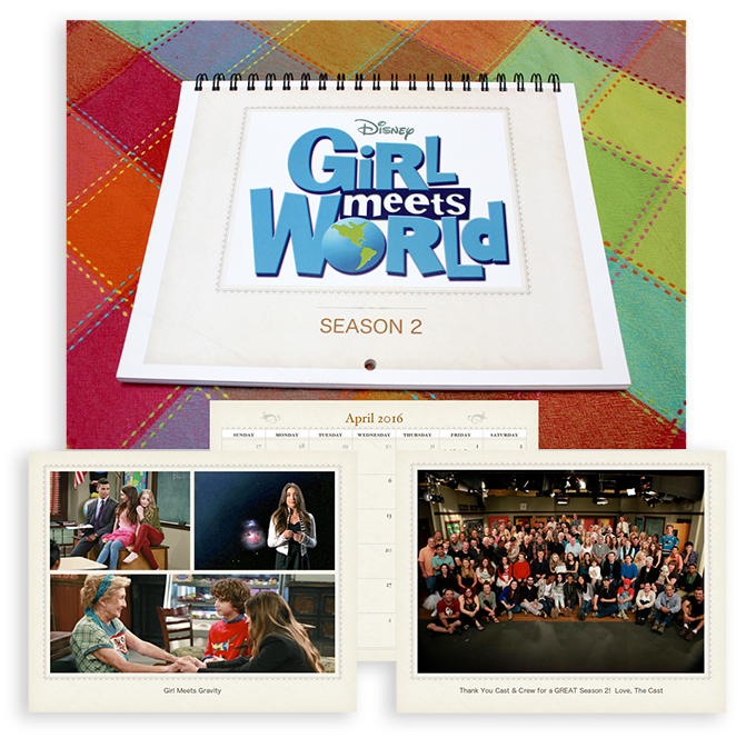Girl Meets World calendar