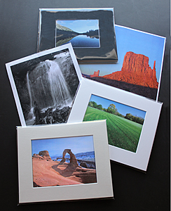 Custom Prints and Matted Print Combo Packs