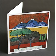 "Custom Printed 5-1/4"" Square Cards"
