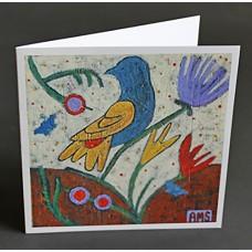 "Custom Printed 6-1/4"" Square Cards"