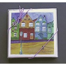 "Custom 6-1/4"" Square Greeting Card Combo Pack"