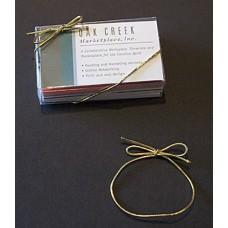 "6"" Metallic Gold Stretch Loop"
