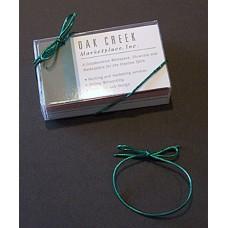 "6"" Metallic Green Elastic Stretch Loop"