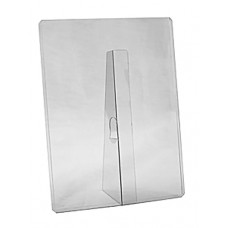 8-1/2x11 Toploader Clear Plastic Easel Stand