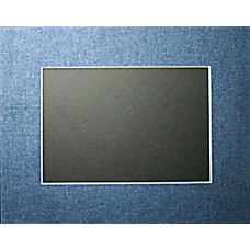 "16"" x 20"" Denim Jeans Mat - 9"" x 12"" Window"