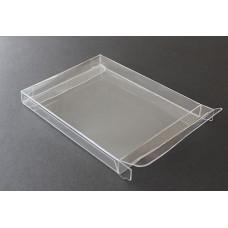 """A2-1/2 Notecard Clear Plastic Box - 4-1/2"""" x 5-7/8"""" x 5/8"""""""