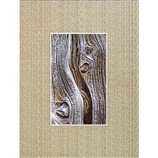 "8"" x 10"" Linen Canvas Mat - 4"" x 6"" Window"