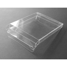 "A6-1 Notecard Clear Plastic Box - 4-7/8"" x 6-5/8"" x 1"""