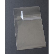 "A6 Protective Closure Notecard Bags (Sleeves) - 4 15/16"" x 6 9/16"""