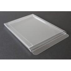 """A2-1/4 Notecard Clear Plastic Box - 4-1/2"""" x 5-7/8"""" x 1/4"""""""