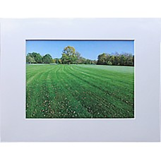 "4"" x 6"" Spanish White Photo Mat - 3"" x 5"" Window"