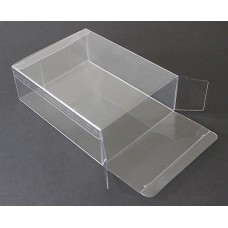 "A7-2 Greeting Card Clear Plastic Box - 5-3/8"" x 7-3/8"" x 2"""