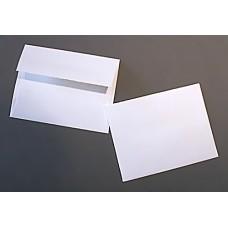 Teton Deckle Edge A2 White Envelopes
