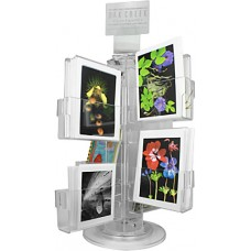 Clear Acrylic Greeting Card Rack - A7 Vertical