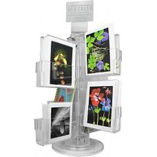 Clear Acrylic Greeting Card Rack - A7 Vertical
