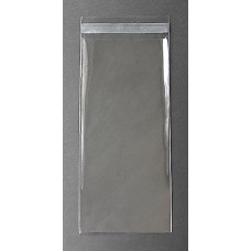 "Bookmark Poly Bags (Sleeves) - 2-1/2"" x 7-1/8"" (Large)"