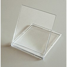 Clear Acrylic CD Calendar Flip-Up Stand/Case