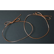 "10"" Metallic Copper Stretch Loop"