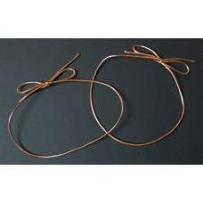 """10"""" Metallic Copper Stretch Loop"""