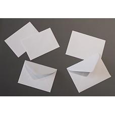 #16 White Gift Card Envelopes