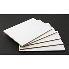 Blank ACEO/ATC Boards Texture Boards - Pack of 5