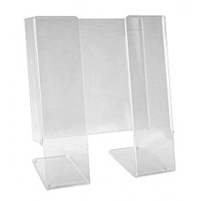 Clear Acrylic Media Stand