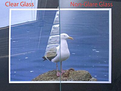Non Glare Glass